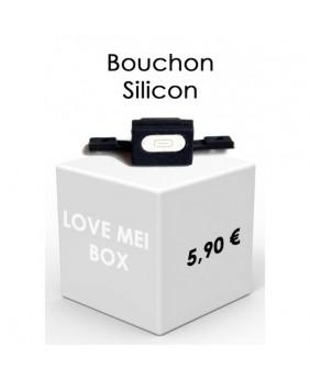 Bouchon silicone coques...