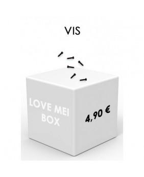 Lot 6 vis coques LOVE MEI...