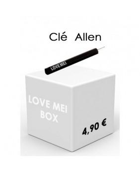 Clé Allen coques LOVE MEI...
