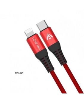 Câble USB-C to iPhone...