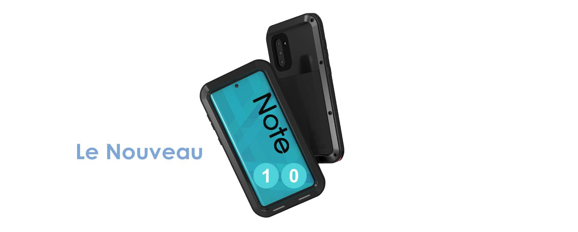 Coques LOVE MEI POWERFUL SAMSUNG NOTE 10